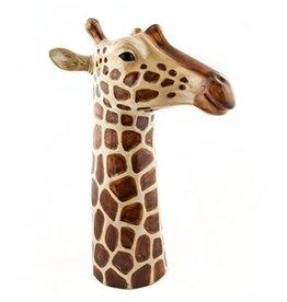 Quail Giraffe flower vase
