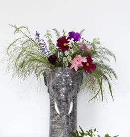 Quail Elephant flower vase