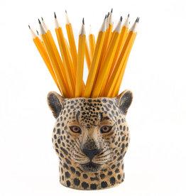 Quail Leopard Pencil Pot
