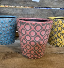 kaemingks8 Plant pots Pink,Yellow & Blue