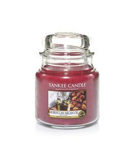 Yankee Yankee Jar Candle - Medium Moroccan Argan oil