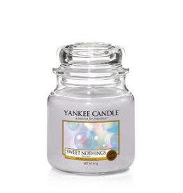 Yankee Yankee Jar Candle - Medium Sweet Nothings