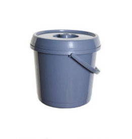 WhiteFurze 14L Bucket with lid