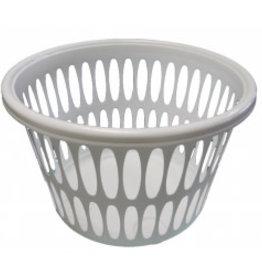 SupaHome Laundry Basket Silver