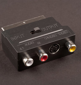 Dencon Scart/3 Phonos Adaptor