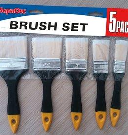 SupaDec Supa 5pk Brush Set