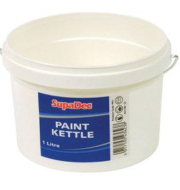 SupaDec Plastic Paint Kettle 1L