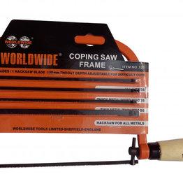 Worldwide Tools Coping Saw Set Worldwide