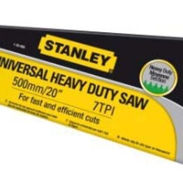 Stanley HD Hardpoint Saw 7TPI Stanley