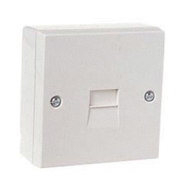 Dencon Telephone Socket Slave White