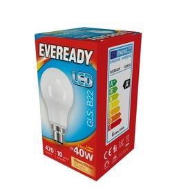 Eveready 40w BC LED GLS WWNon DimEveready