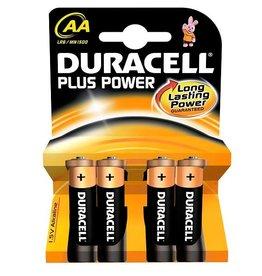 Batteries Alkaline Plus AA 4 Pack
