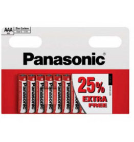 Panasonic Batteries Zinc Carbon AAA 10 pack