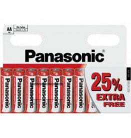 Panasonic Batteries Zinc Carbon AA 10 pack