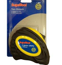 SupaTool Supa Rubber Tape Measure 7.5m