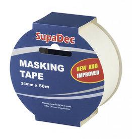 SupaDec Supa Masking Tape 24mm 50m