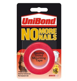 Unibond (henkel) No More Nails On a Roll 19mmx1.5m