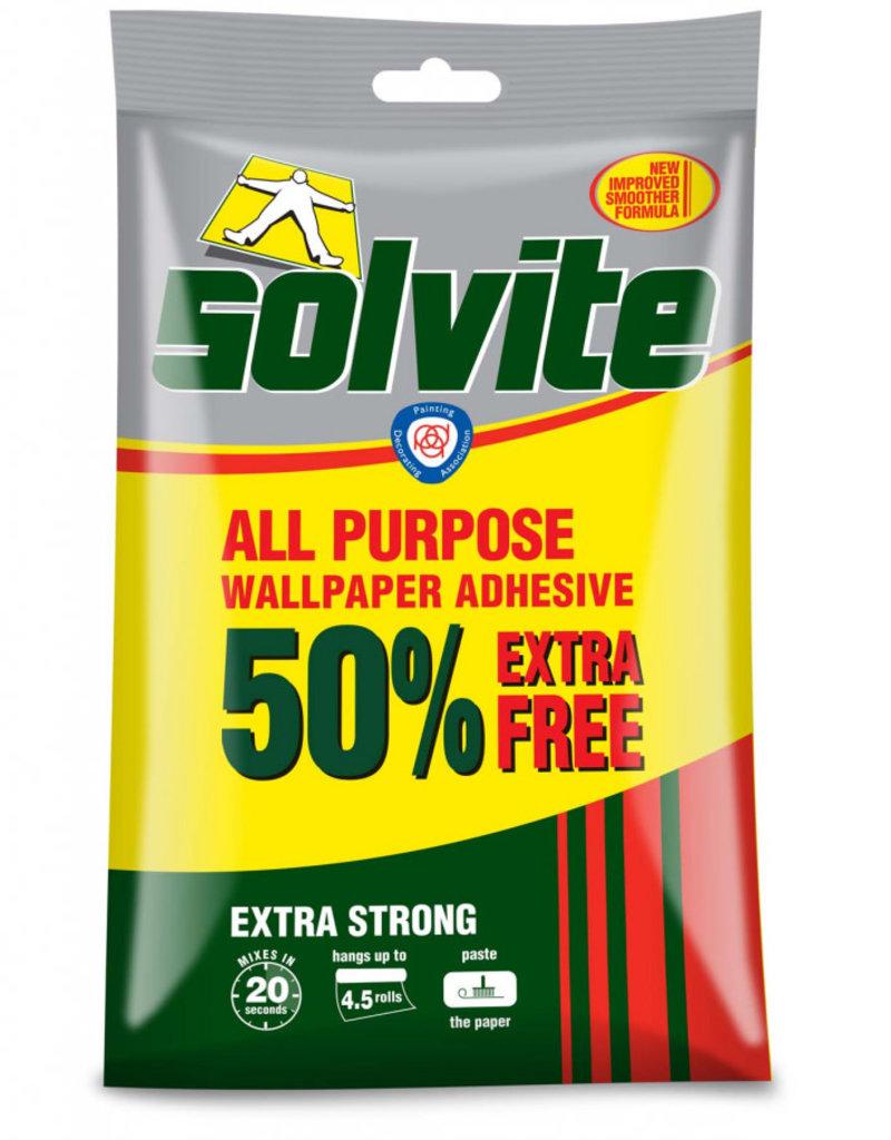 Solvite (henkel) Solvite Wallpaper Adhesive 4.5 rolls