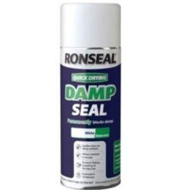 Ronseal Quick Dry Damp Seal White 400ml