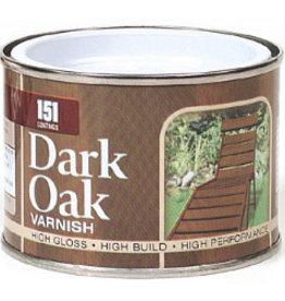 151 Coatings Varnish 180ml Dark Oak