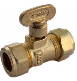 SupaPlumb 15mm Compression Fan Gas Cock