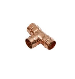 SupaPlumb 15mm Solder Ring Tee Copper