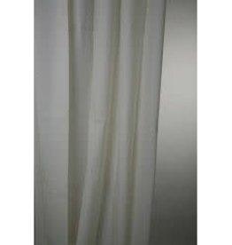 Blue Canyon Peva Shower Curtain 180x180cm Cream