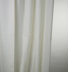 Blue Canyon Peva Shower Curtain 180x180cm White
