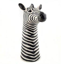 Quail Zebra flower vase
