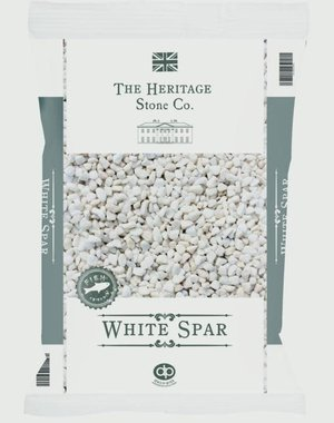 White Spar aggregate