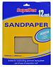 Sandpaper Assorted 12pk