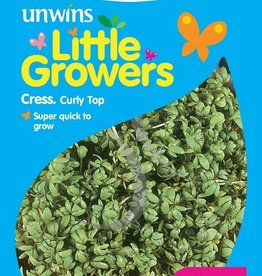 Unwins Little Growers - Cress Curly Top