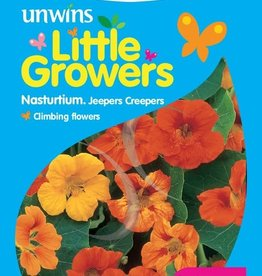 Unwins Little Growers - Nasturtium Jeepers Creepers Mix