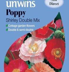 Unwins Poppy - Shirley Double mix