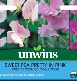 Unwins Sweet Pea - pretty in pink