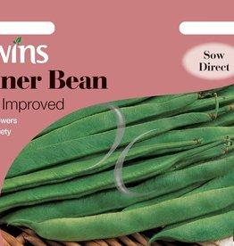 Unwins Runner Bean - Sunset Improved