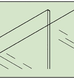 Easy Fix 2mm 2'x2' Acrylic Clear flat plastic sheet