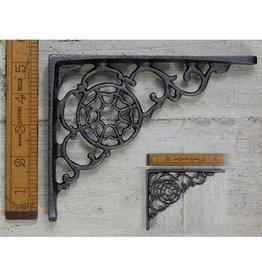 Cottingham Collection Cast Iron Shelf Bracket 'Cobweb' Design