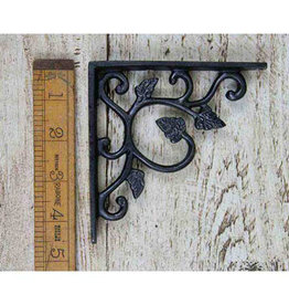 Cottingham Collection Cast Iron Shelf Bracket 'Leaf' Design
