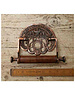 Cottingham Collection Copper 'Crown' Toilet Roll Holder