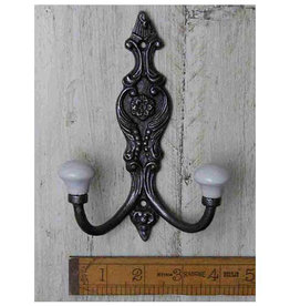Cottingham Collection Cast Iron 'French' Hat & Coat Hook