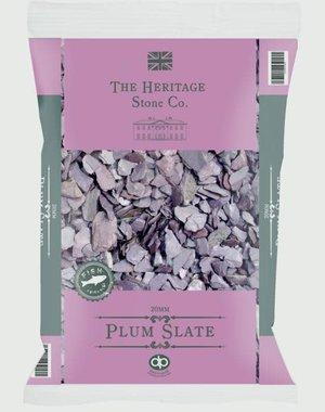Deco-Pak Plum Slate 20mm 22kg aggregate