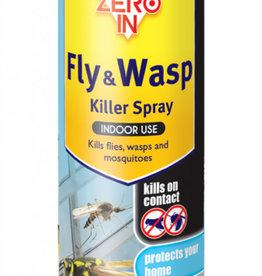 Zero in (STV) Fly & Wasp Killer300ml Aerosol