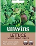 Unwins Lettuce - Mixed salad Leaves