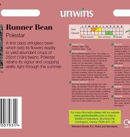 Unwins Runner Bean - Polestar