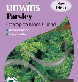 Unwins Parsley - Champion Moss Curled