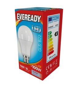 Eveready LED GLS BC 100w Daylight Non Dim
