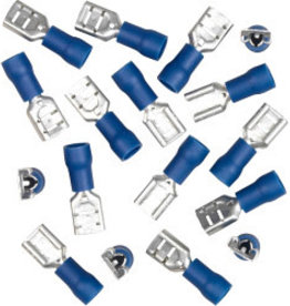 Dencon Insulating Connectors - Female 15 Amp - Blue