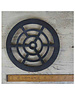 """Cottingham Collection Drain Cover Round Cast Iron 8""""/200mm"""