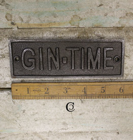Cottingham Collection Gin time sign
